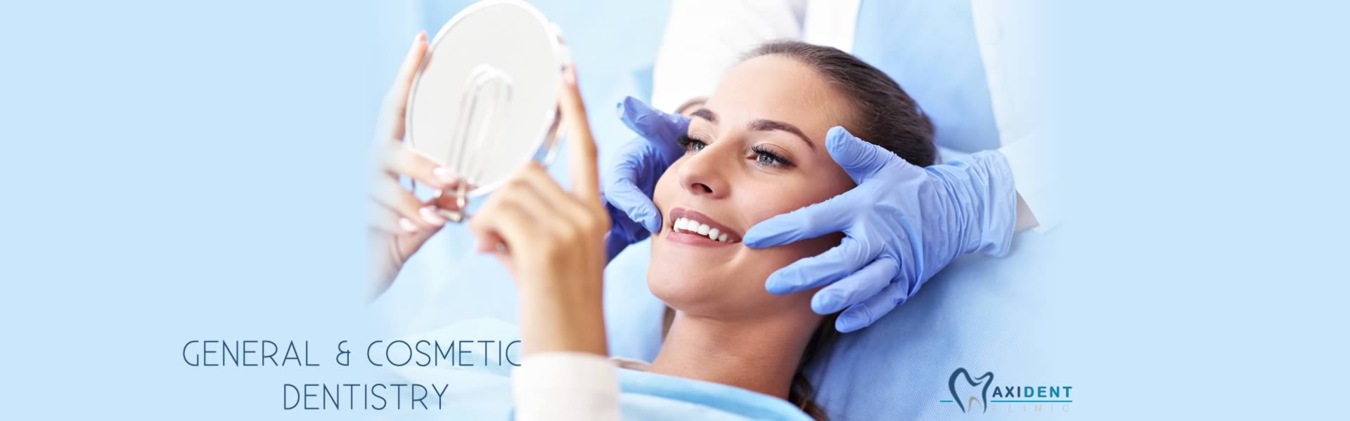 General & Cosmetic Dentistry At Maxident Clinic